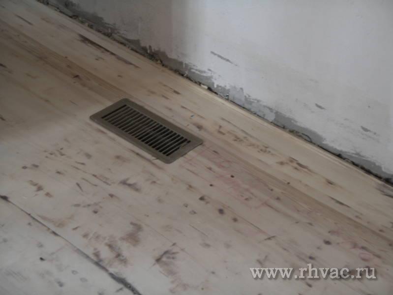 Как сделать в доме вентиляцию в полу
